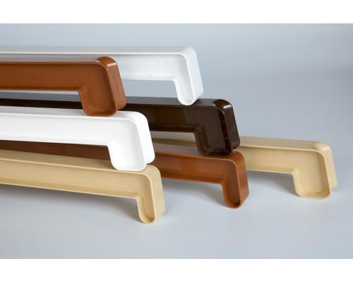 Vitrage ПВХ - Соединитель 90/135 длина 70 см, под цвет