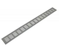 Werzalit  - Вентиляционная решетка 800/80 мм серебристая